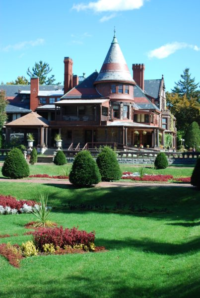 The Sonnenberg Mansion in Canandaigua