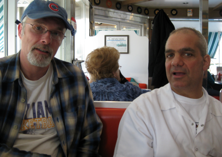 Breakfast at Connie's Diner in Waterloo, NY