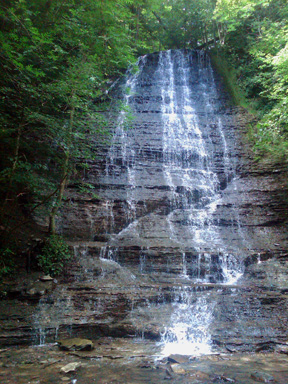 Waterfalls, Naples NY