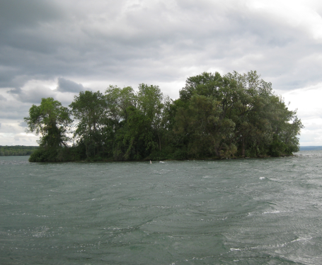 Boatride on Cayuga Lake