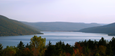Looking south, Canandaigua Lake