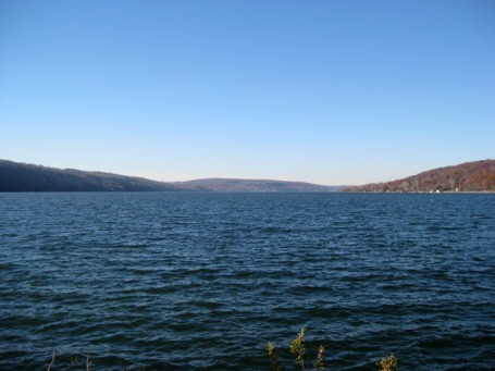 view north Otisco