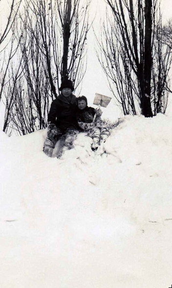 Skaneateles winter of 1932