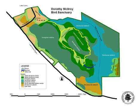 Dorothy McIlroy Bird Sanctuary