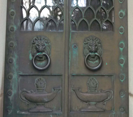 Bronze Mausoleum Doors
