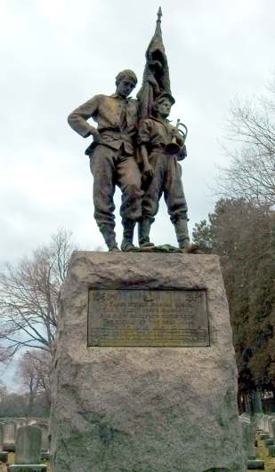 Monument to the soldiers of the Civil War