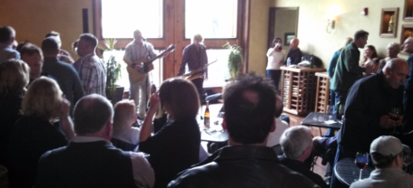 Live music on Saturday afternoons