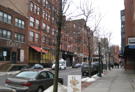 Walking around Armory Square you can find interesting shops and LOTs of places to eat