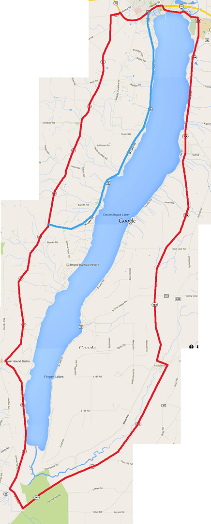 Canadaigua route