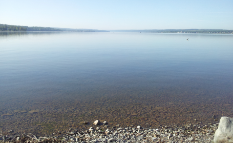 Owasco Lake as viewed from Emerson Park