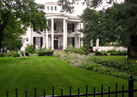 145 Main Street: Neoclassical Style, functions as the Allegiance B&B