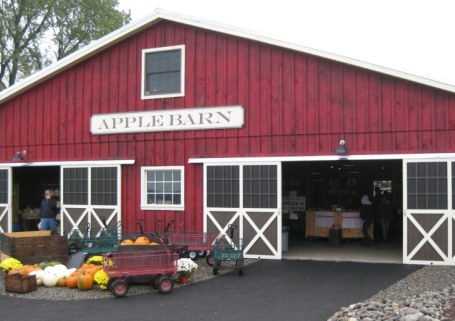 Can't pick your favorite type of apple? Find every variety in the apple barn.